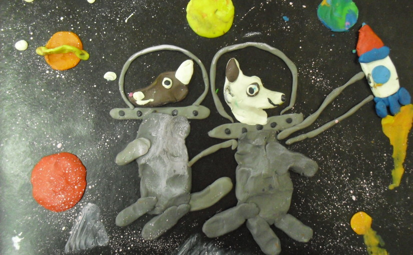 Cosmic friends Belka and Strelka