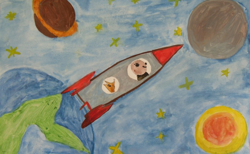 Belka and Strelka are going to space