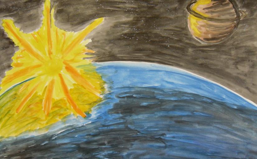 Выброс солнечной энергии