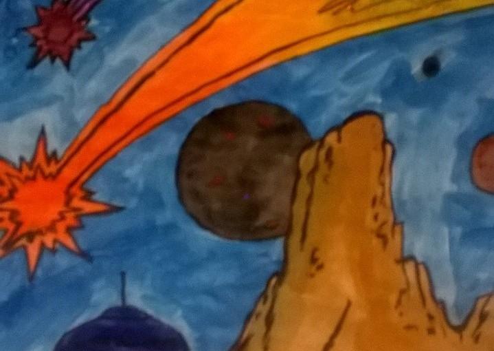 Stitched meteorites space