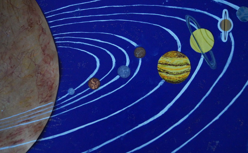 Development of the planets of the solar system