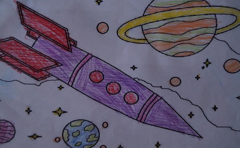 Flight of a rocket!