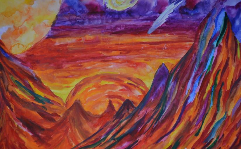 Огненный Марс