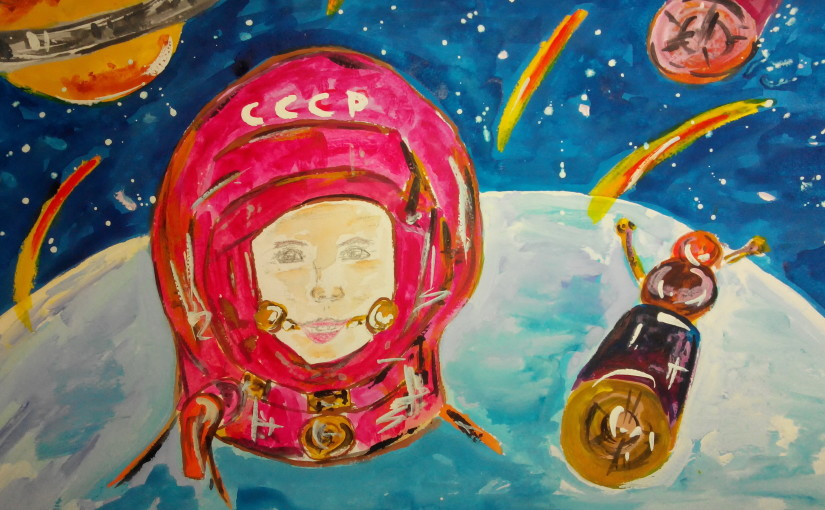 I would be a cosmonaut, let they learn me!