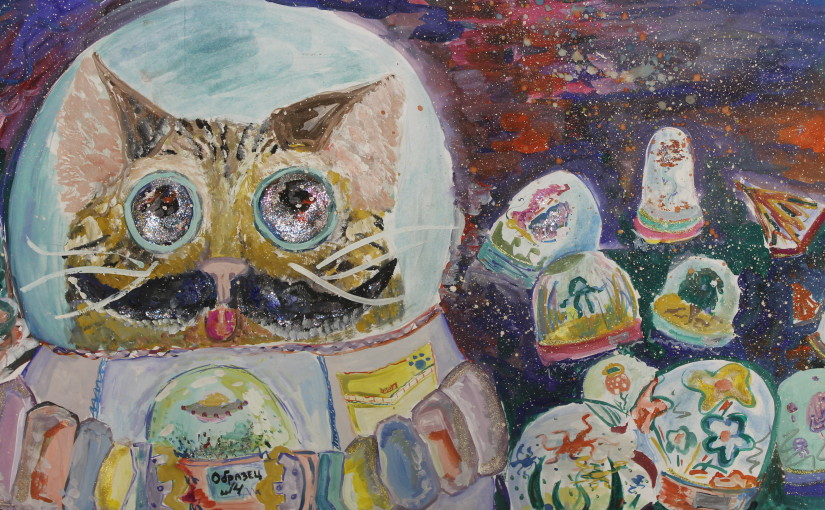 Коты уже и в космосе / Cats are already in space