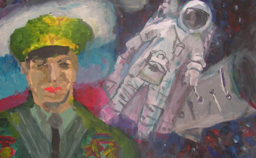 Космонавт Алексей Леонов — выход в открытый космос